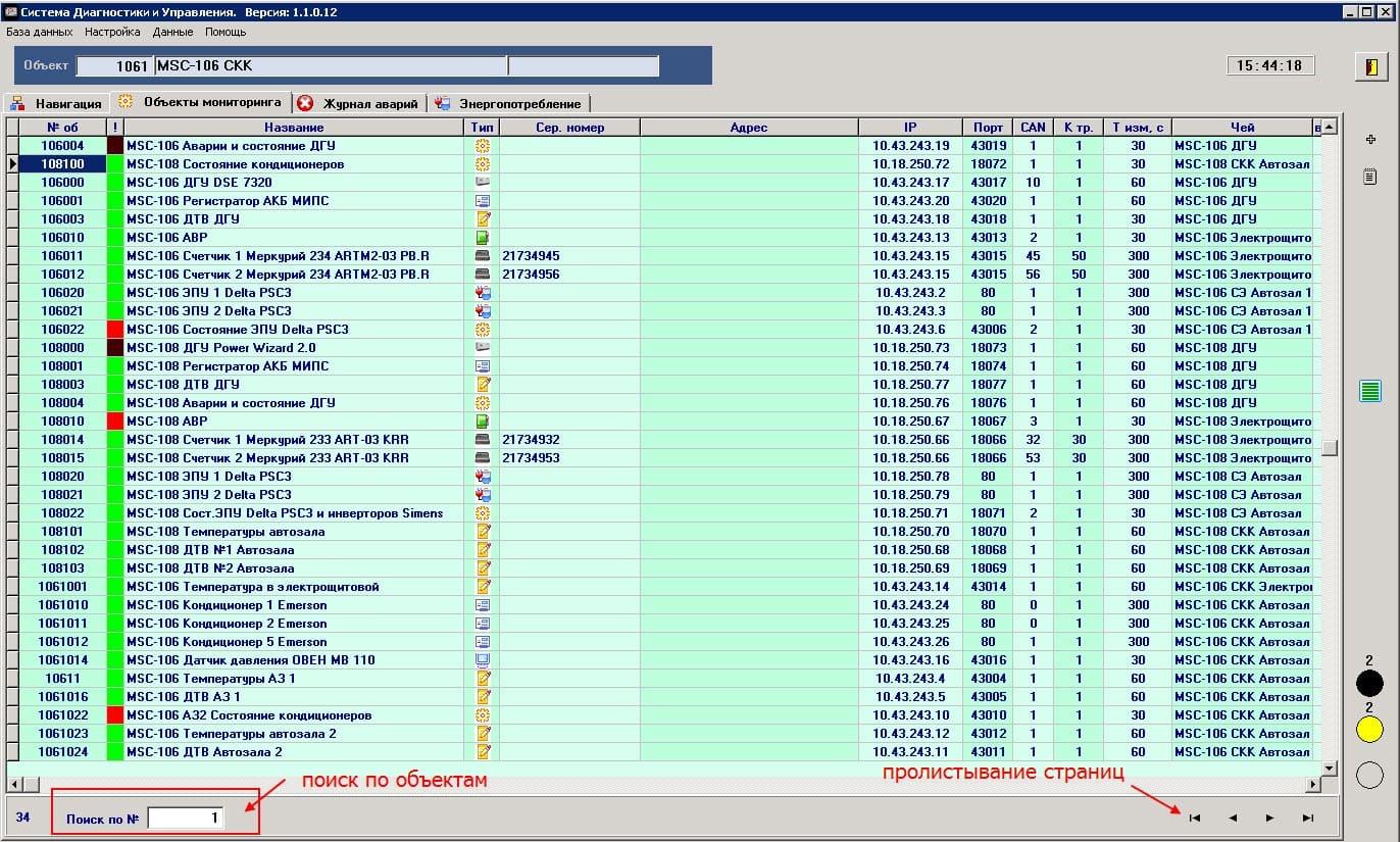объекты мониторинга(2)